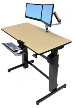 Ergotron WorkFit-D Gaming Desk
